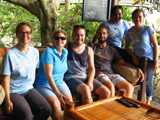Part of the team in Critters@Lembeh