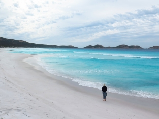 Wandering Lucky Bay